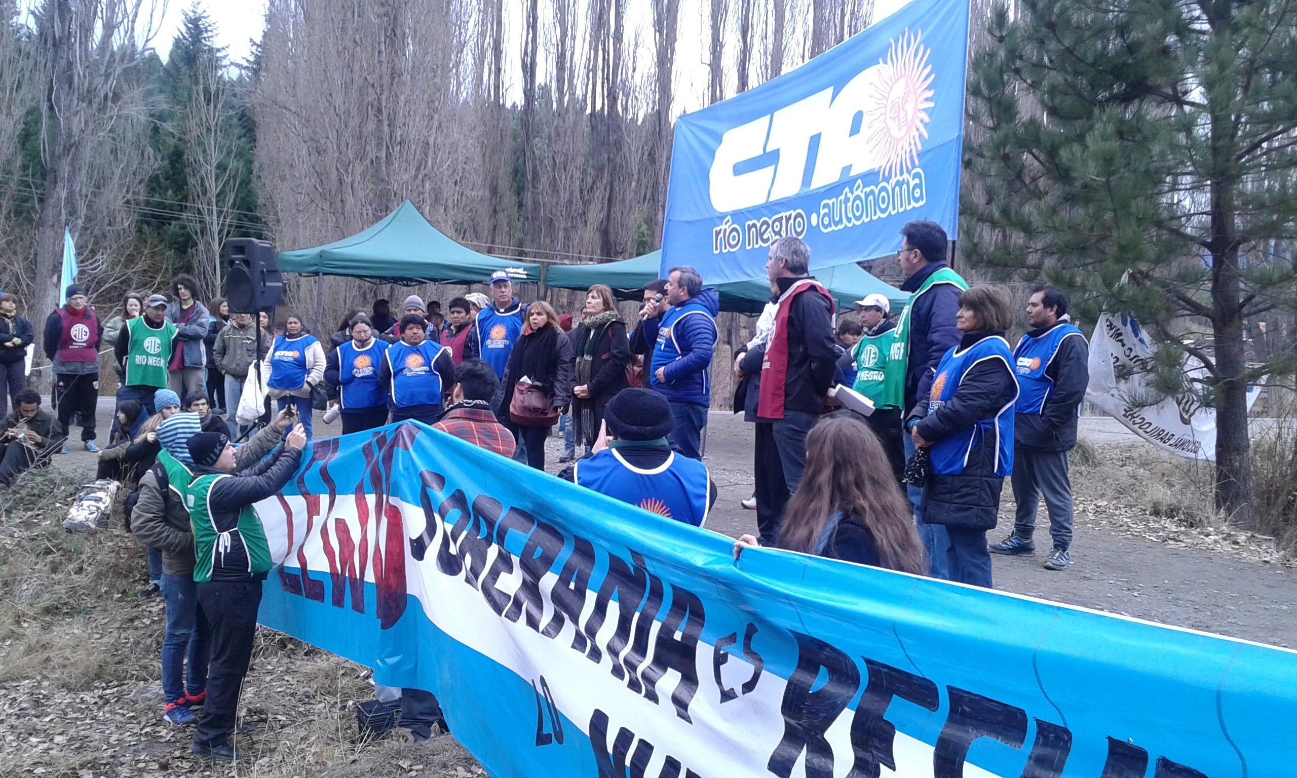 Bicentenario: La CTA Río Negro reclamó una segunda y definitiva independencia