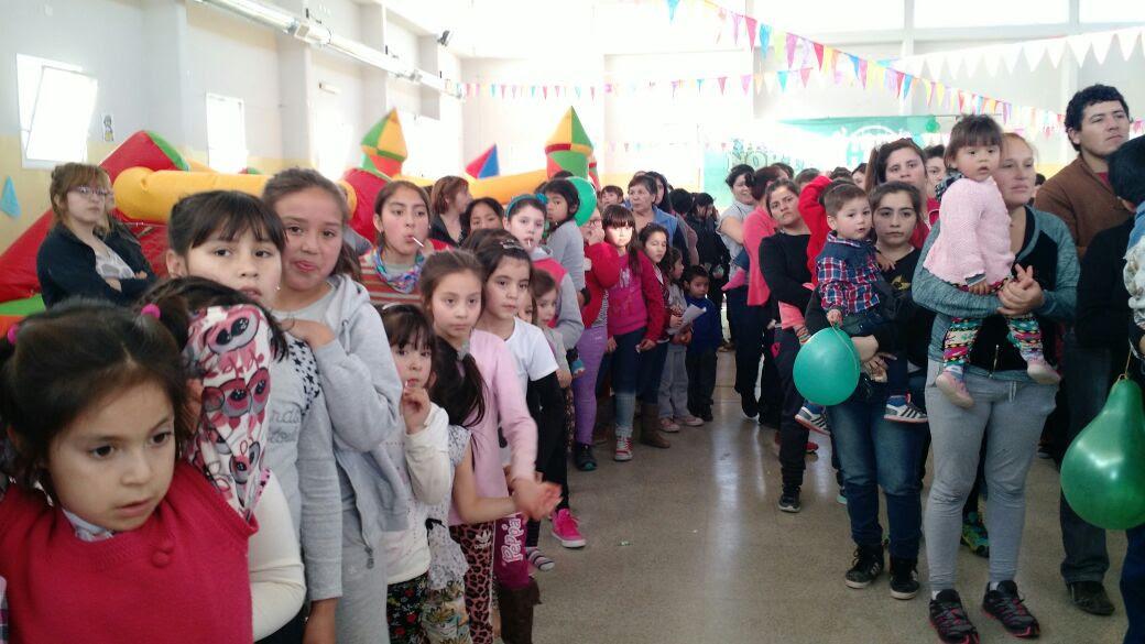 ATE festejó el día del niño en Contralmirante Cordero