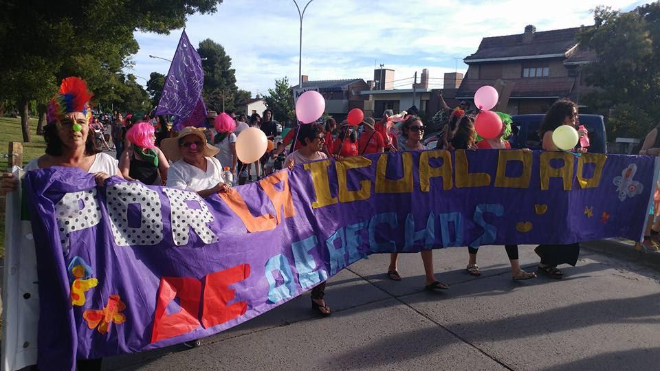 Exitosa primera marcha del Orgullo Gay en Viedma, impulsada por la CTA Río Negro