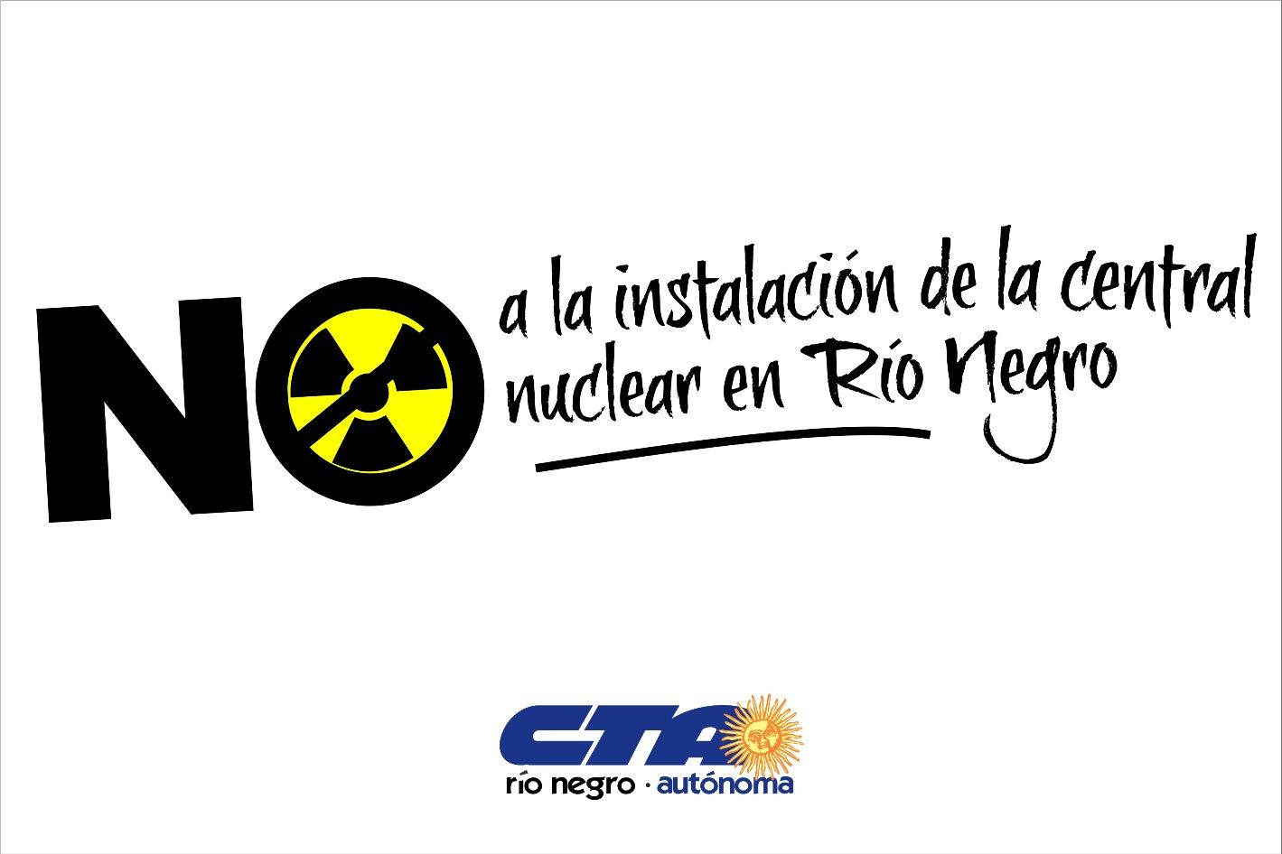 Materiales para llevar adelante la Campaña de Recolección de Firmas contra la Instalación de una Central Nuclear en la provincia
