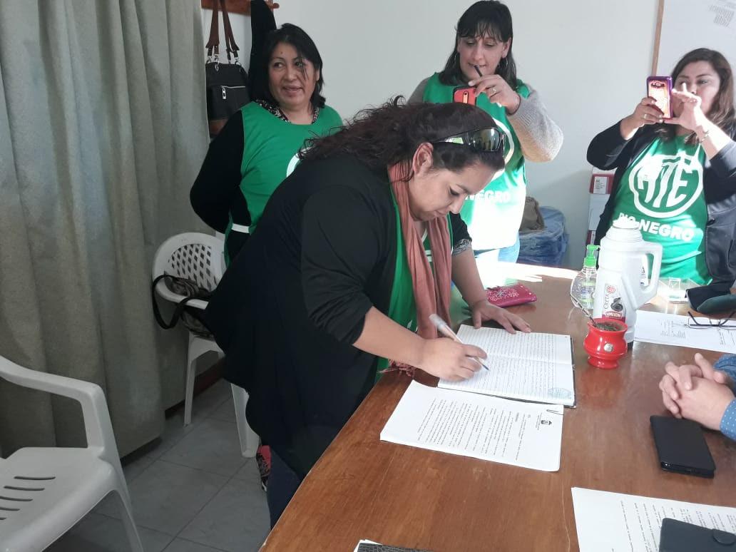Sierra Grande: ATE consigue un 20% de aumento en paritarias, otros logros y vuelve a negociar en junio