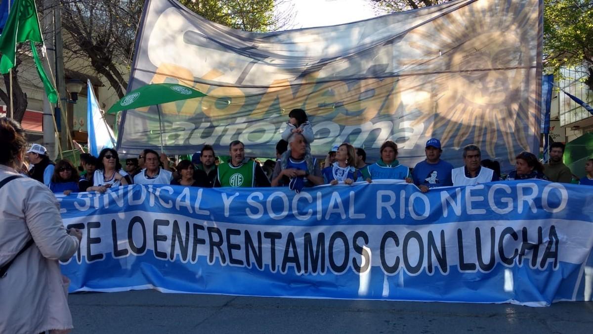La Central obrera repudió la política de hambre y ajuste del gobierno nacional
