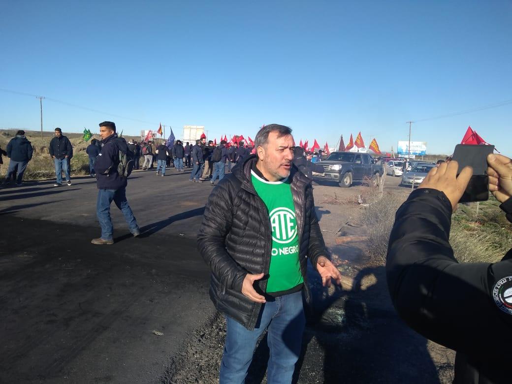 #Video #Aguiar en el #ParoNacional de #ATE junto a los trabajador@s de la #PIAP