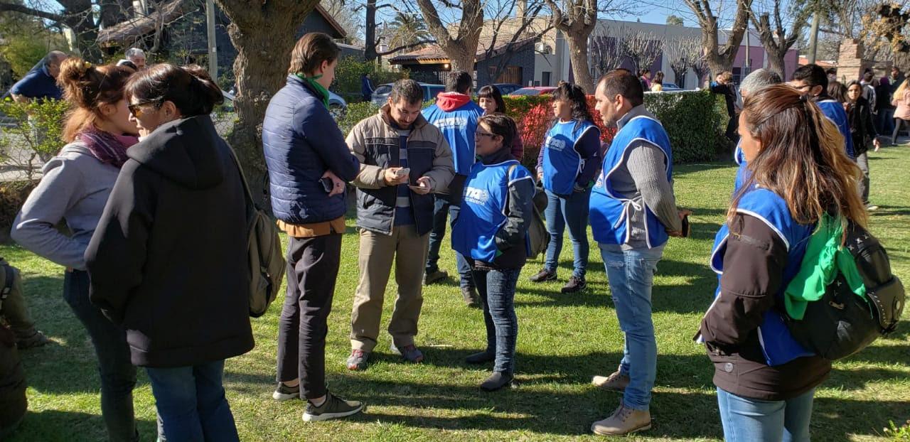 La CTA Autónoma acompaña la protesta en el rectorado de la UNRN