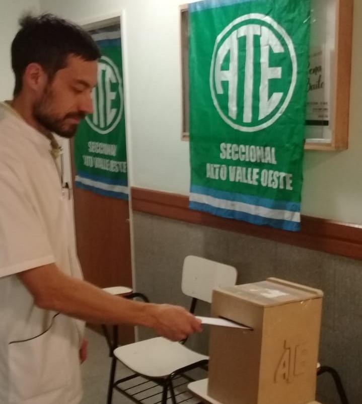 Cipolletti | ATE renovó delegados en dos establecimientos clave