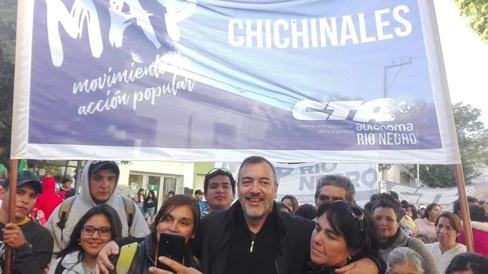 El MAP abre merenderos en Catriel y Chichinales