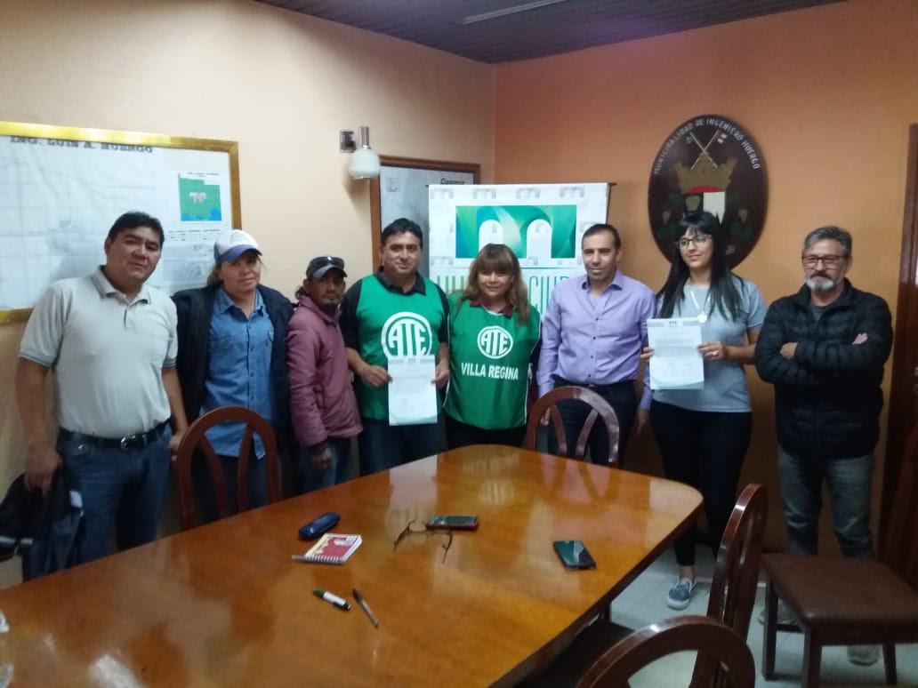 Histórico | Ate logra un 50% de aumento salarial en Ingeniero Huergo