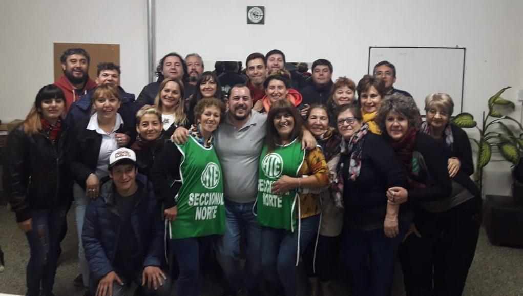 Elecciones ATE | Arrasó la lista Verde y Rodrigo Vicente es el nuevo Secretario General