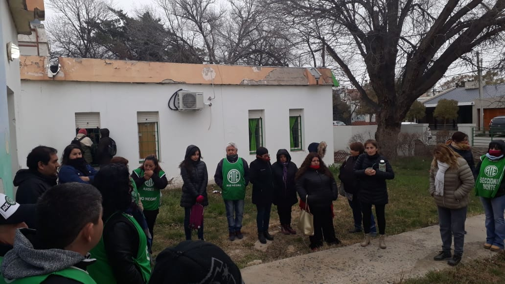 Roca | Mañana ATE inicia medidas en la sede local de la SENAF