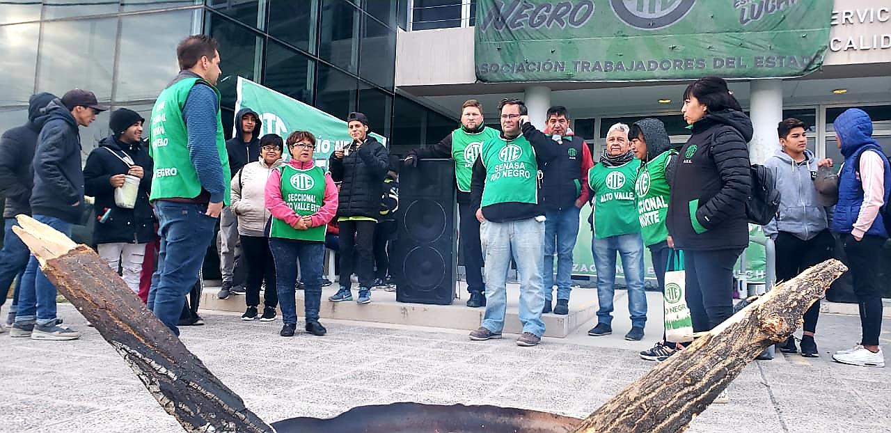 SENASA | Tras el paro, ATE Río Negro será recibida hoy en Agroindustria