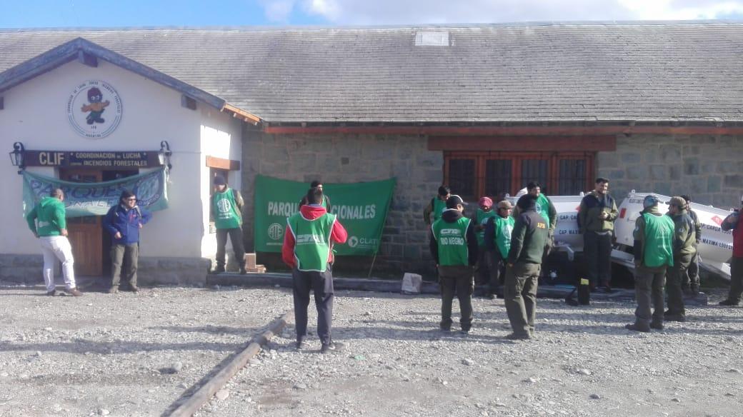Parques Nacionales | Fuerte protesta de ATE en Bariloche