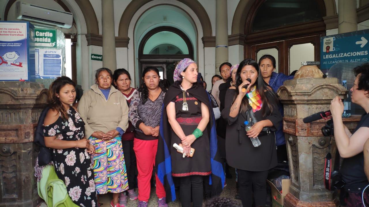 La CTA Autónoma se solidariza con la Mujeres Indígenas que permanecen en el Ministerio del Interior
