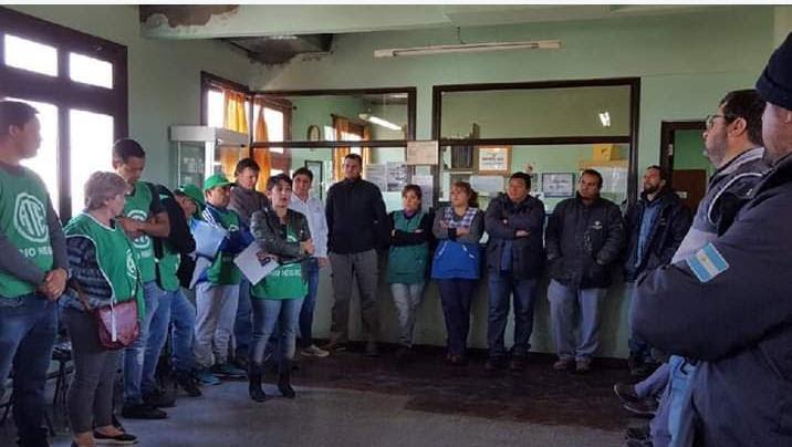 Tren Patagónico | Estaban excluidos, pero ATE consiguió para ellos un bono de $5000