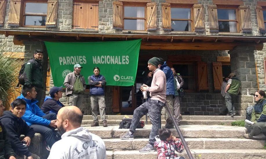 Bariloche | Nueva protesta de ATE en intendencia de Parques Nacionales