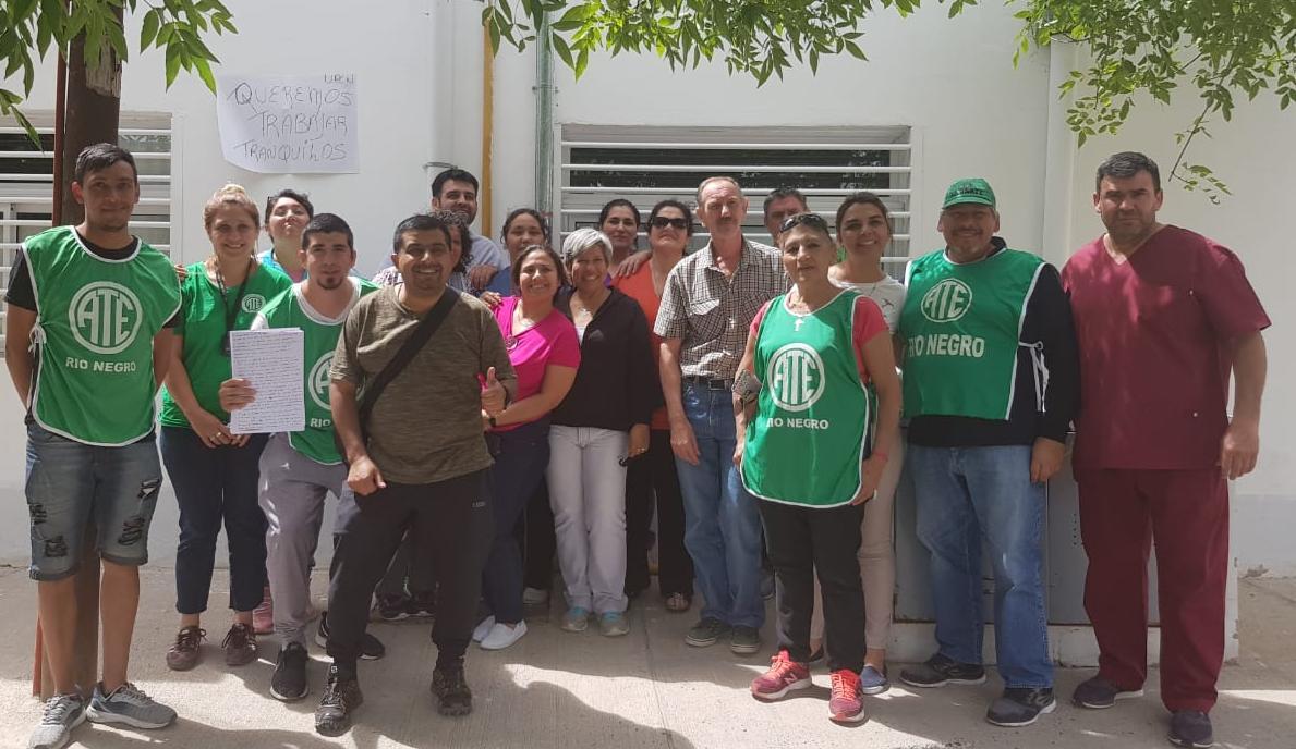 Belisle   Tras las protestas ATE logra abrir un canal de diálogo en el hospital
