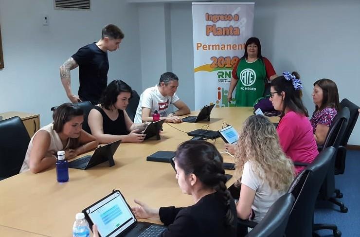 Pase a Planta | ATE veedora del examen en la Casa de la Provincia en Buenos Aires