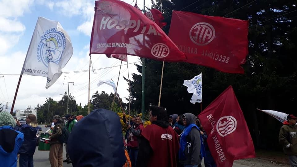 Bariloche | ATE reclamó la reincorporación de 45 trabajadores del Centro Atómico