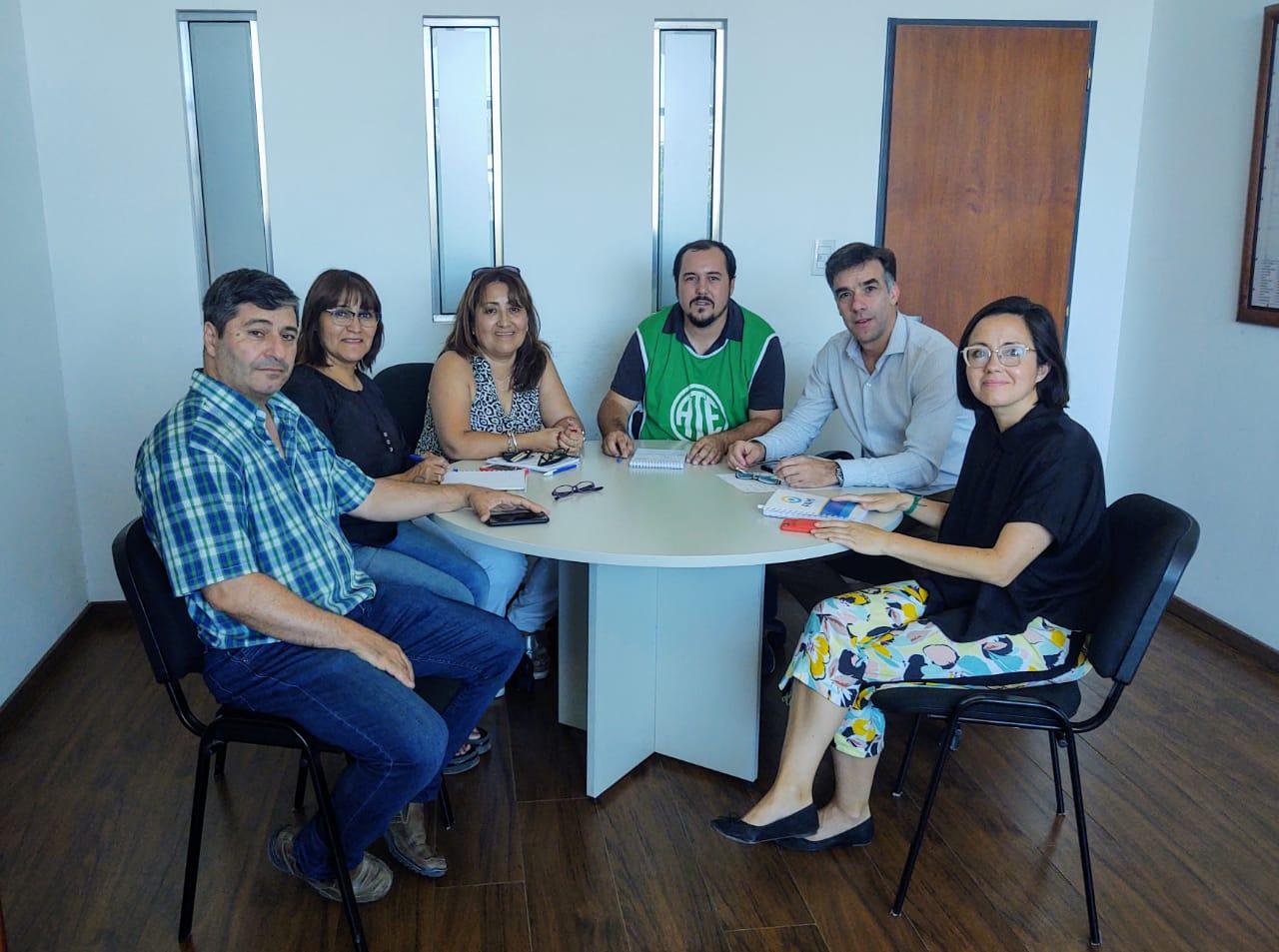 PAMI | ATE se reunió con el nuevo director ejecutivo Diego Mel