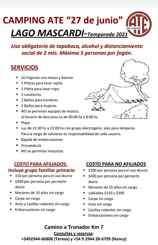 Camping Bariloche 3