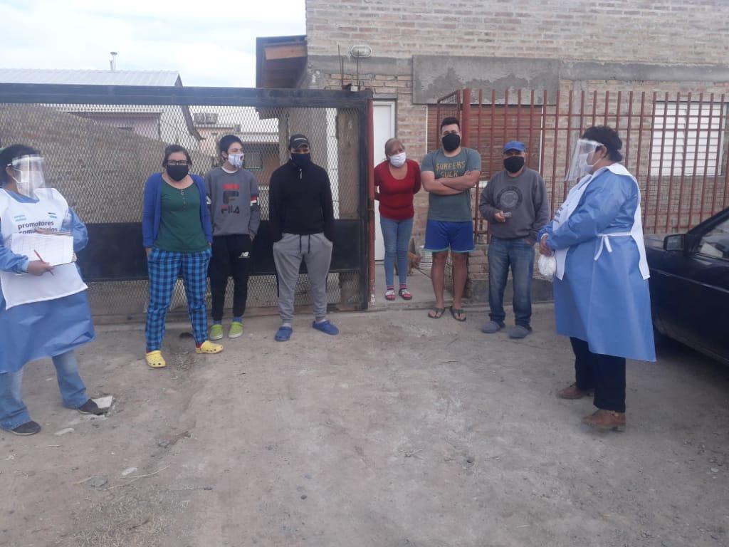 «El Barrio Cuida al Barrio» | La CTA Autónoma entregó insumos y relevó condiciones sanitarias