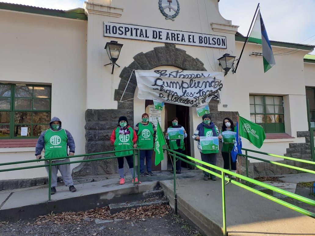 Salud   Tras la lucha de ATE se acreditaron los $5000 a la totalidad de los trabajadores discriminados
