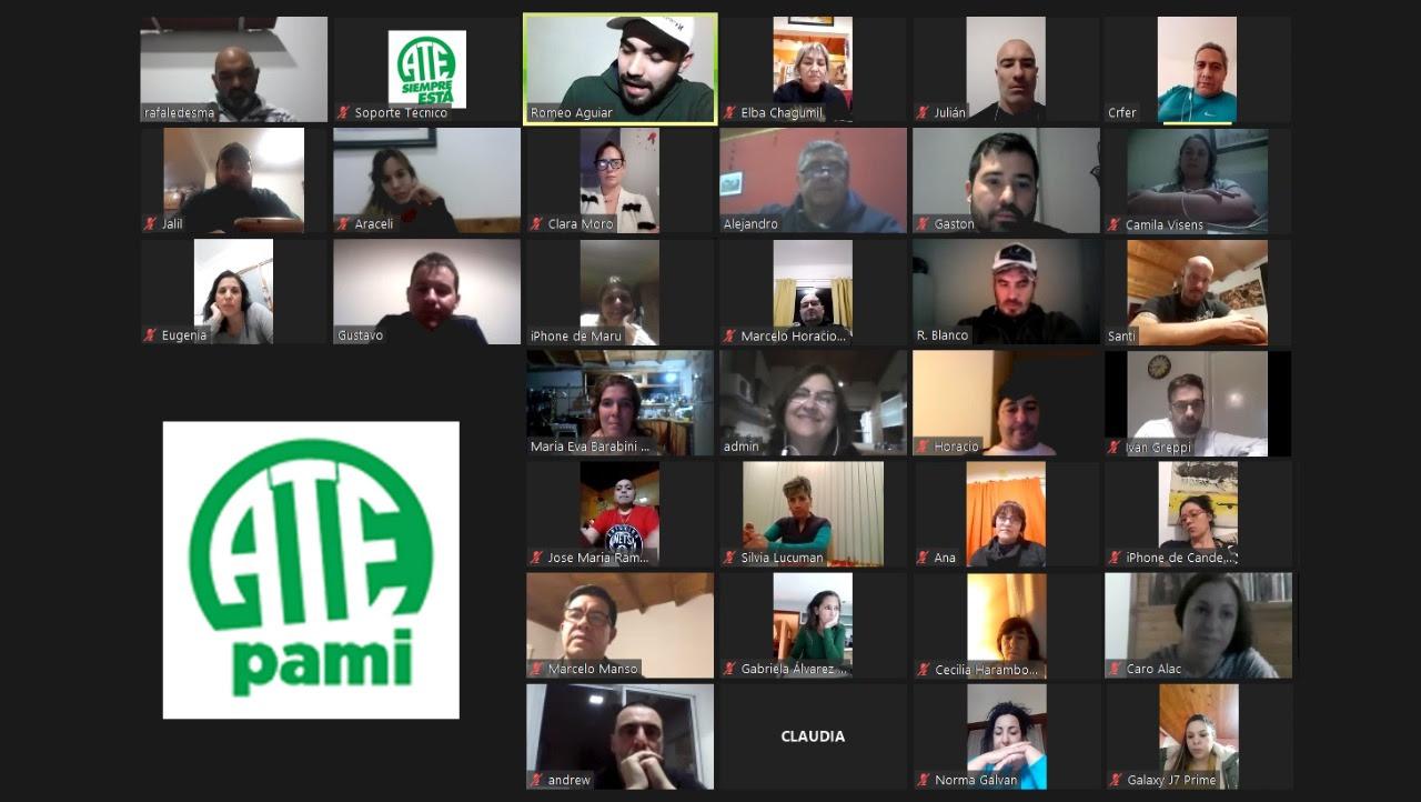 PAMI | Mañana paro virtual de ATE contra el desdoblamiento del aguinaldo
