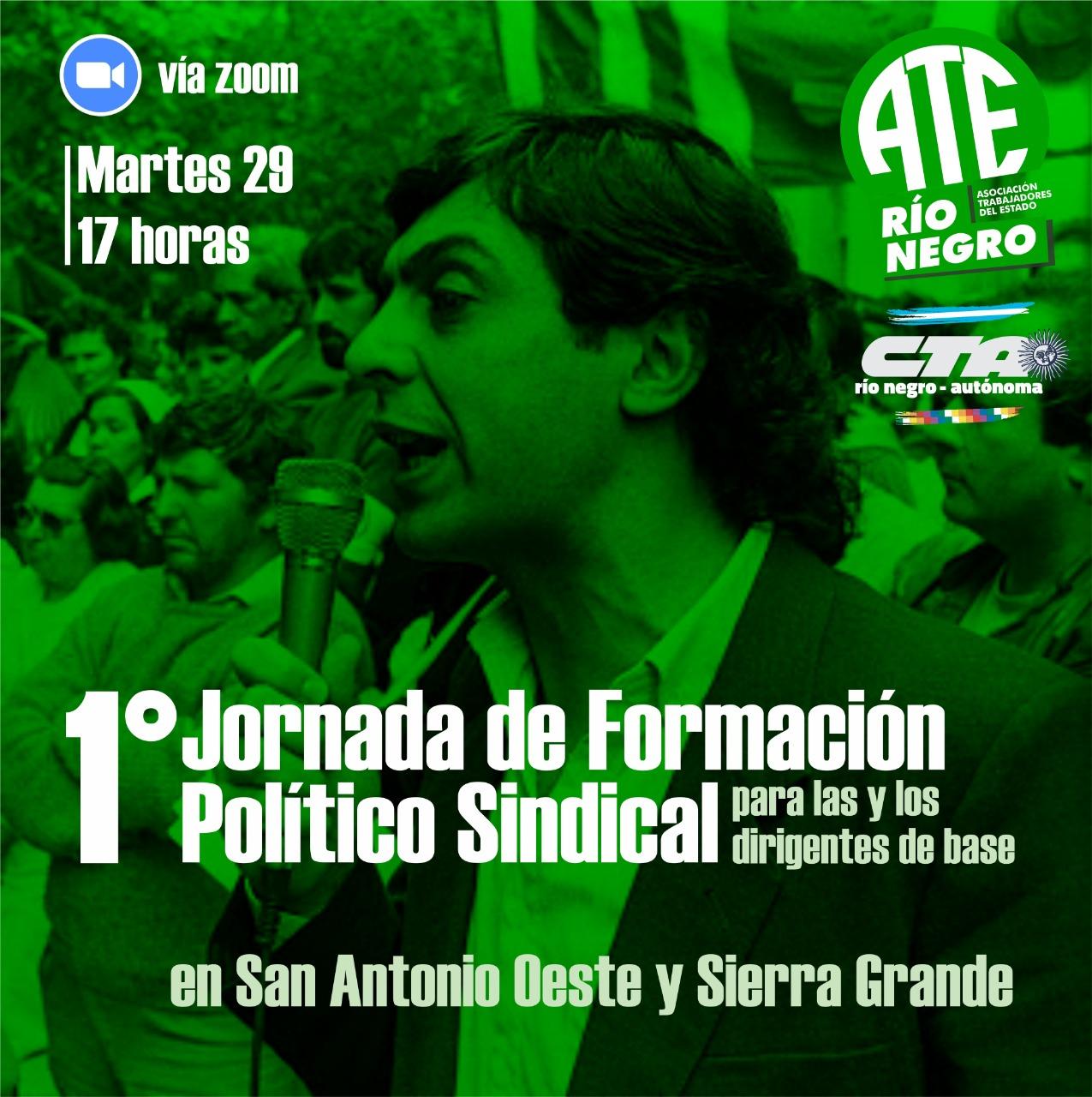 ATE lanza Formación Político Sindical para Dirigentes de Base