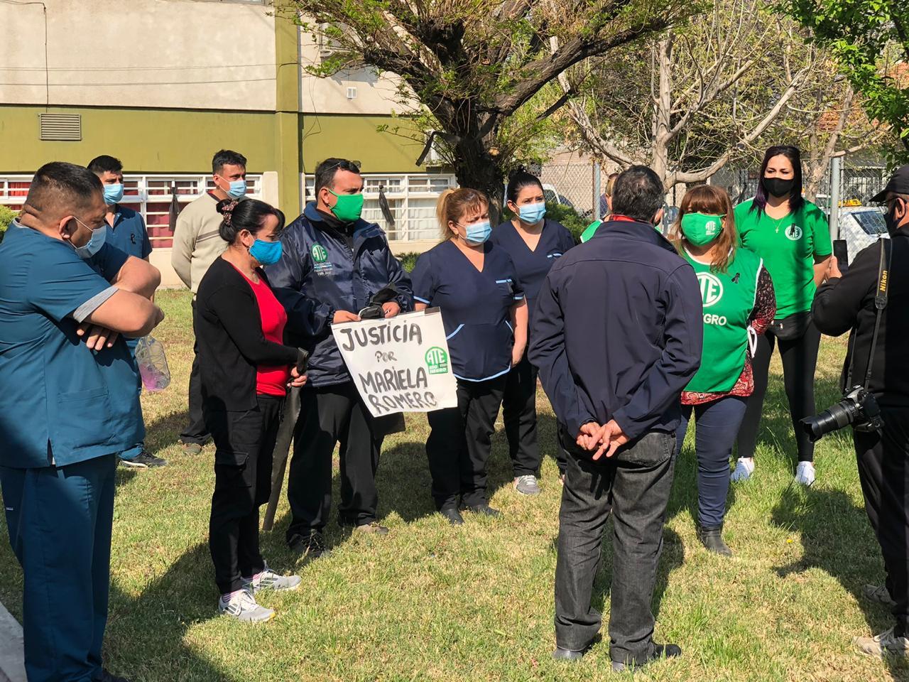 Regina | ATE pide justicia por la enfermera Mariela Romero