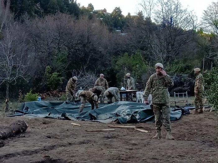 ATE repudia al Ejército por la destrucción de una huerta comunitaria