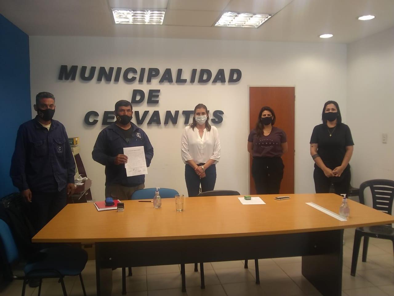 Cervantes | En paritarias ATE logra importante incremento para municipales