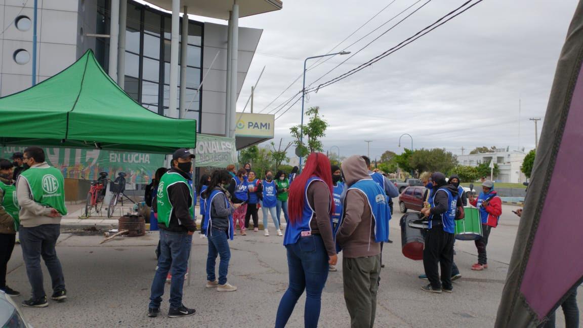 PAMI | Hoy nuevo paro de ATE en todo Río Negro