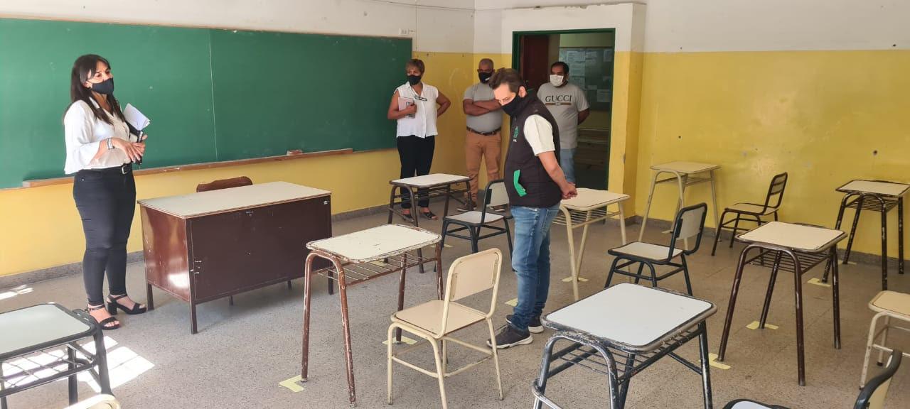 Roca| Más de 50 delegados de ATE controlan la aplicación de protocolos en las escuelas