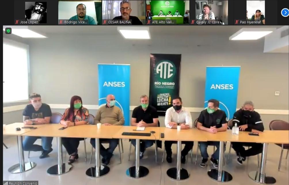 ATE y ANSES firmaron un convenio de formación para delegados rionegrinos