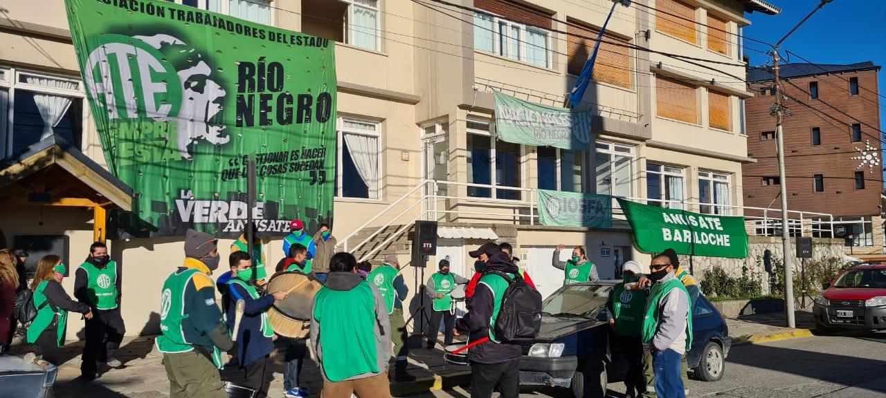 Bariloche | ATE protestó contra el vaciamiento del IOSFA