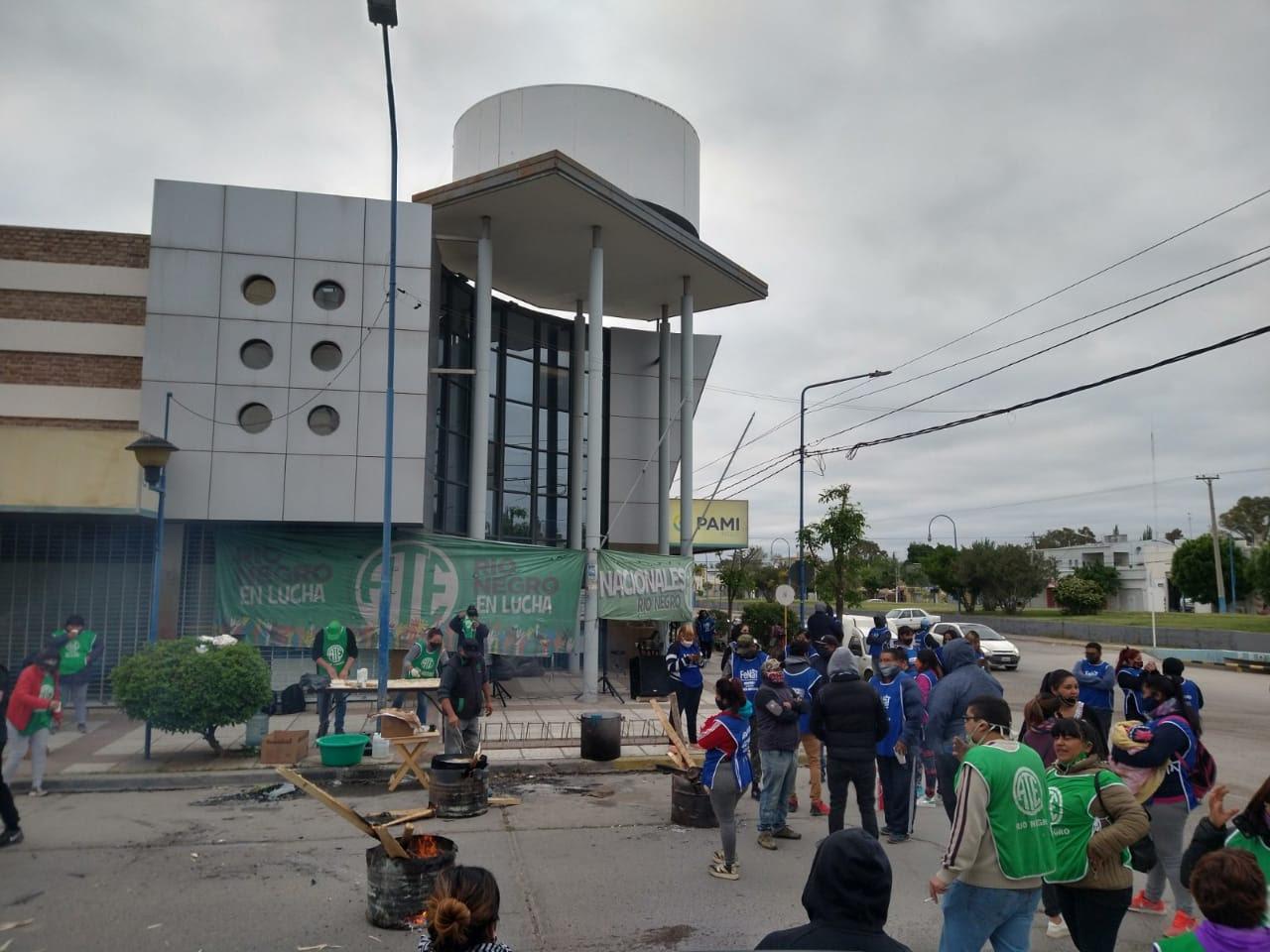 PAMI | Hoy ATE para en todas las agencias rionegrinas y sólo garantiza emergencias
